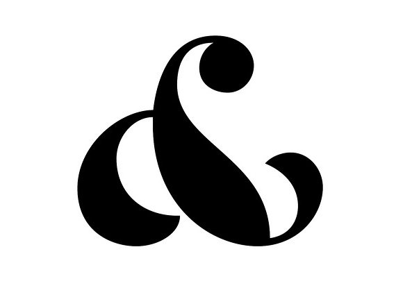 Smart Creative Designs Of The Ampersand Symbol The Design Buzz